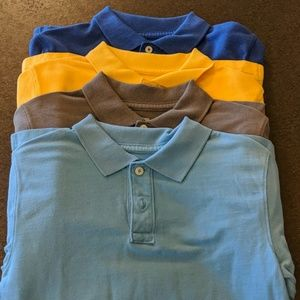 Lot of 4 polos